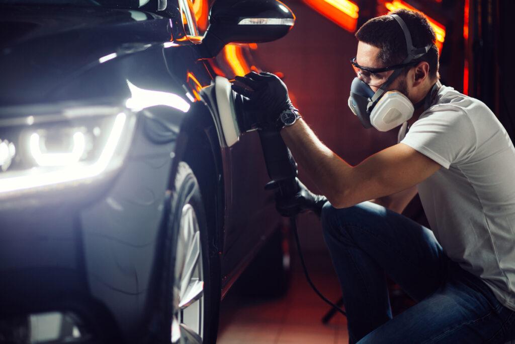 profesjonalne polerowanie samochodu